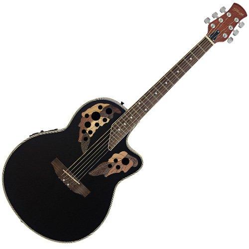 Stagg A2006-BK - Guitarra electroacústica, color negro