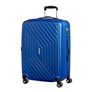 American Tourister - Air Force 1 Spinner 66/28 Expandable 69/81L - 3.6 KG, Insignia Blue