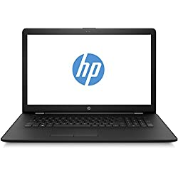 HP 17-bs001ng (17,3 Zoll/HD+ SVA) Laptop (Intel Celeron N3060, 8 GB RAM, 256 GB SSD, Intel HD Grafik, FreeDOS 2.0) schwarz