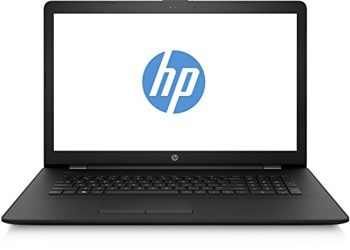 HP 17-bs001ng (17,3 Zoll / HD+ SVA) Laptop (Intel Celeron N3060, 8 GB RAM, 256 GB SSD, Intel HD Grafik, FreeDOS 2.0) schwarz