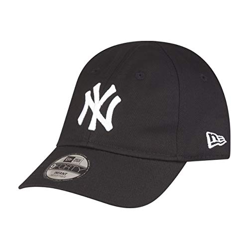 New Era League Essential 9 Forty Infant Adjustable Cap NY Yankees Schwarz, Size:Infant