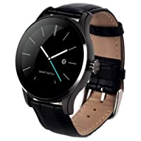 Smartwatch K88H Bluetooth Heart Rate Monitor Smart Watch - Black