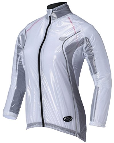 2014 BBB Womens BBW-145 RainShield Jacket White Medium (Womens Cycle Jacken)