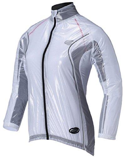 2014 BBB Womens BBW-145 RainShield Jacket White Medium (Womens Cycle Jacken)