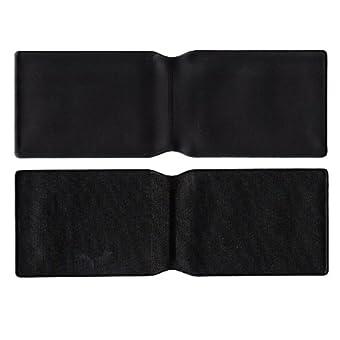 10x schwarz Kunststoff Oyster Card Wallet Abdeckung/Halterung/