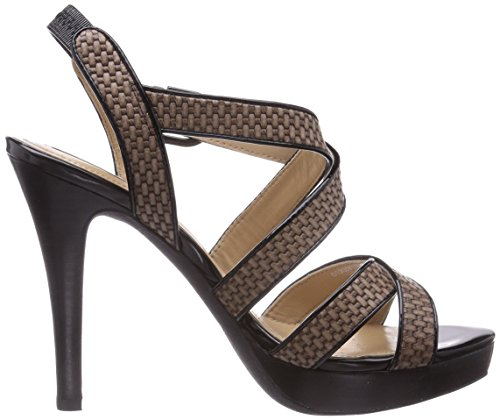 Geox D IVANA SAND C, Low-Top Sneaker donna Beige (Beige (DOVE GREY/BLACKC1381))