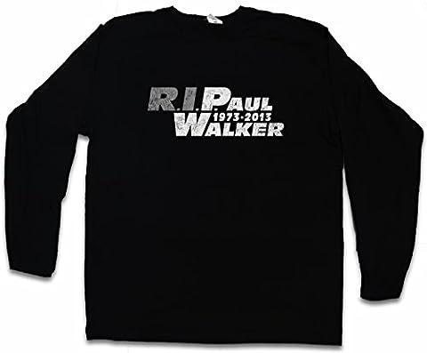 RIP PAUL WALKER T-SHIRT à MANCHES LONGUES – 1973 – 2013 Tailles S – 5XL