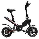 Nouveau Scooter à Deux Roues Se Pliant électrique de Bicyclette de 12 Pouces,...