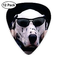 Cool Dalmatian Dog Glasses Classic Guitar Picks 12-Pack