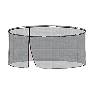Ampel 24 Replacement Safety Net for Trampoline with Security Ring Diameter 430 cm Replacement Mains Außenliegend | Extremely Tear-Resistant Garden Trampoline Replacement Net for 10 Bars & UV Resistant
