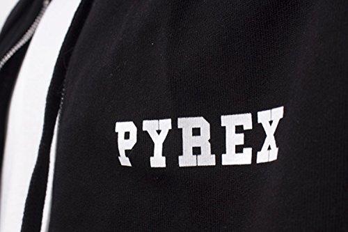 PYREX - Felpa uomo con cappuccio regular fit 33303 Nero