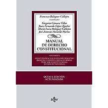 1: Manual De Derecho Constitucional - Volumen I (Biblio. Universitaria 2013)