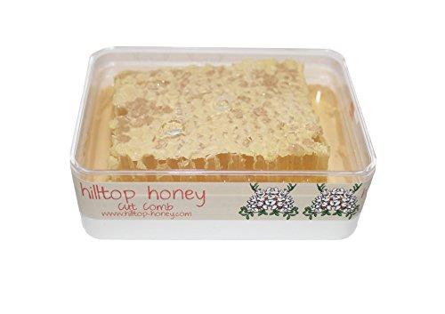 Hilltop Honey Raw Cut Comb Slab 200 g