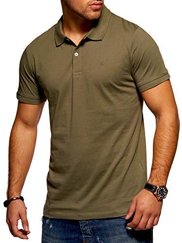 JACK & JONES Herren Poloshirt Polohemd Shirt Basic (Medium, Dusty Olive)