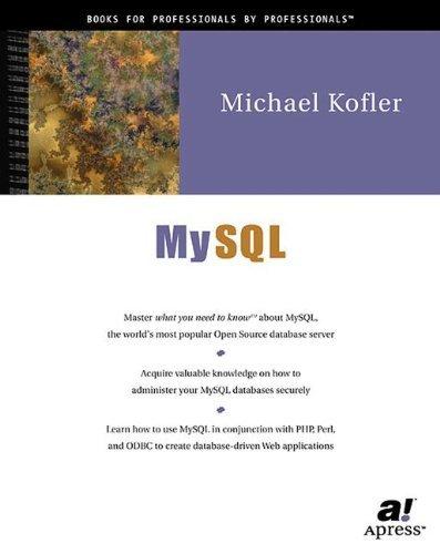 MySQL by Michael Kofler (2001-06-25)
