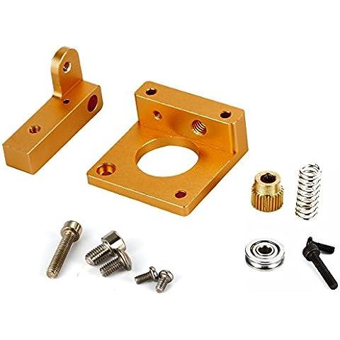 XCSOURCE Stampante 3D MK8 estrusore di alluminio Block Frame Kit fai da te i3 Reprap All Metal BI089