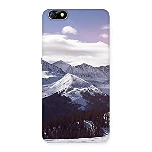 Neo World Snow Mountains Winter Sky Back Case Cover for Honor 4X