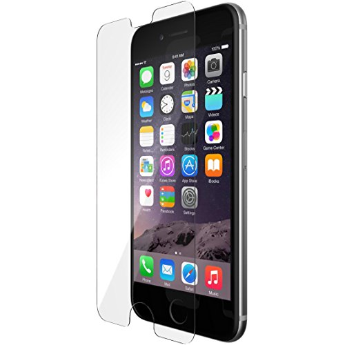 Tech21 Evo Glass Hartglas Displayschutzfolie Ultradünn mit Aufprallschutz für Apple iPhone 6/6s