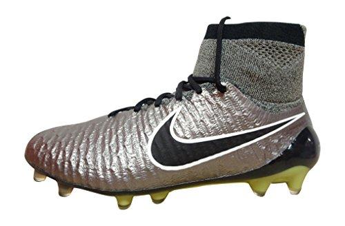 Nike , Chaussures de football pour homme metallci pewter black white 011