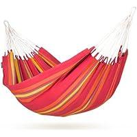 La Siesta Currambera Amaca singola 220x140 cm colore: Rosso