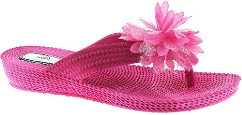 les sandales de tongs temporaires taille d'été temporaires tongs de différentes couleurs lp3028 pourpr e - ro yaume - uni - 5 (ue 38) 24928f