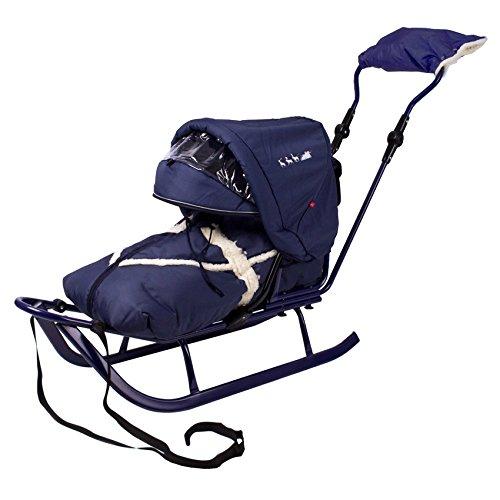Babyschlitten Piccolino Komfort (Granatblau)