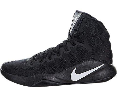 Nike Herren Hyperdunk 2016 Basketballschuhe, Blanco (Blanco (Black/White)), 45.5 EU