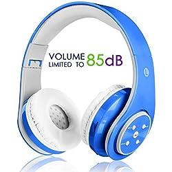 Oxendure - Auriculares Bluetooth para niños. Recargables