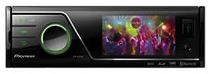 Pioneer MVH-8300BT 1-DIN Moniceiver (7,6 cm (3 Zoll) Display, AUX-In, Bluetooth, SD-Kartenslots, USB 2.0) schwarz