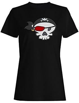Pirata capitán mar océano hombre gracioso camiseta de las mujeres d950f