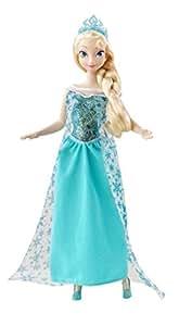 Disney Princesses - Y9967 - Poupée Mannequin - La Reine des Neiges - Elsa lumineuse et musicale
