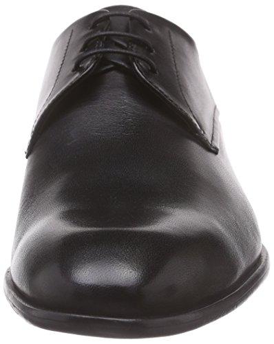 Hugo C-Dresios 10187917 01, Derby homme Noir (Black 001)