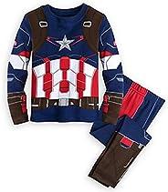 Boys Pajama Avengers Superhero Iron Man Thor Hulk Captain America Spiderman Pajamas