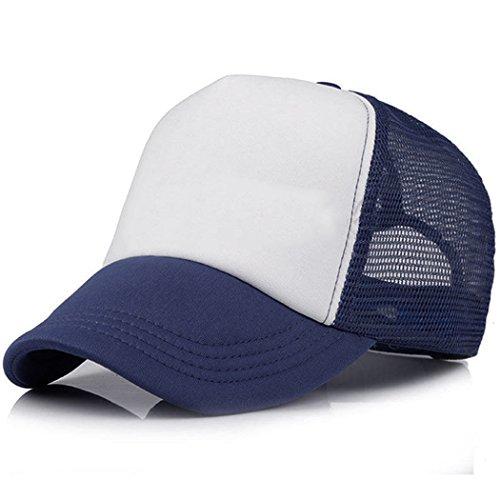 MIOIM Gorro Ajustable para Niños Gorra para Niños Gorra para el Sol Sombrero para el Sol Gorra de Béisbol Sombrero DIY Mezcla de Algodón