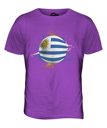 CandyMix Uruguay Fußball Herren T Shirt Violett