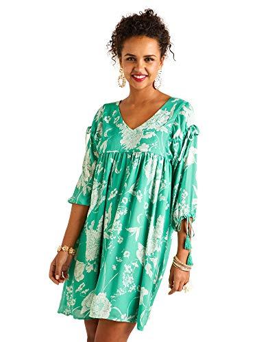 2f65230b0 YUMI - Vestido - para Mujer Verde Verde 42