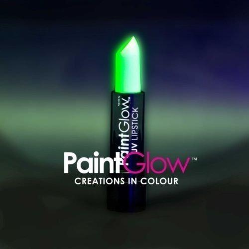 paintglow rot hat Lippen Neon leuchtet unter die UV-Lampen (grün)