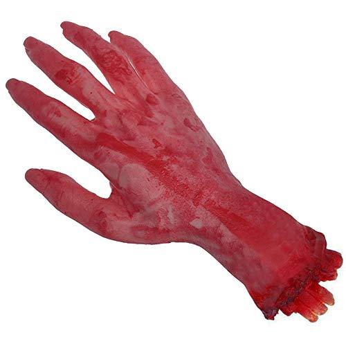 Abgetrennte Kostüm Hand - Bihood Abgetrennte Hand Hundespielzeug Abgetrennte Hand Prop Abgetrennte Gliedmaßen Prop Blutige Gliedmaßen Abgetrennte Arm Kinder Abgetrennter Arm Prop Bloody Arm Prop Abgetrennte Hand Prop