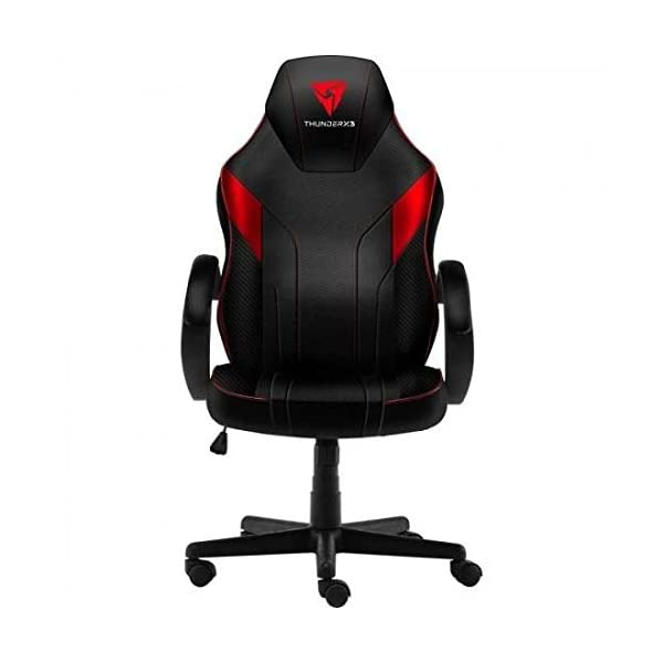 ThunderX3 EC1, silla gaming, tecnología AIR, altura regulable, color rojo