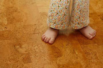 "Alu-Dibond-Bild 120 x 80 cm: \""Kork-Boden - angenehmes Fuß-Gefühl\"", Bild auf Alu-Dibond"
