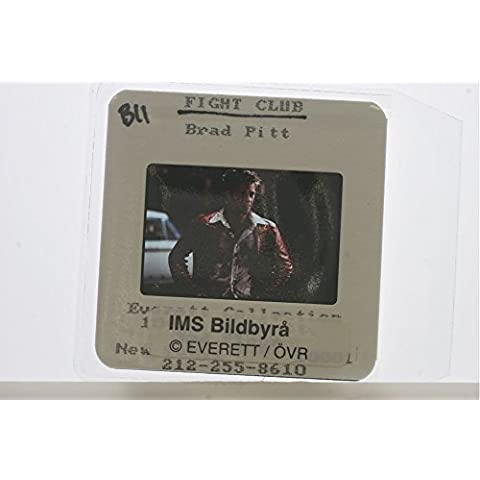 Slides photo of Brad Pitt as Tyler Durden in the movie