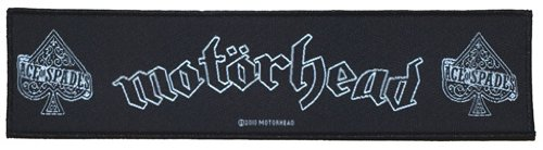 Motörhead SuperS Trip toppa Ace Of Spades Patch in tessuto 20 x 5 cm