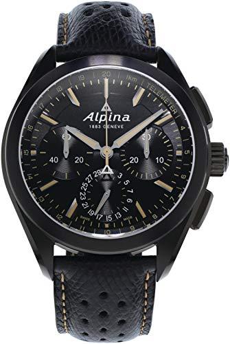 Alpina Geneve Alpiner 4 Flyback Chronograph AL-760BBG5FBAQ6 Cronografo automatico uomo Calibro di manifattura
