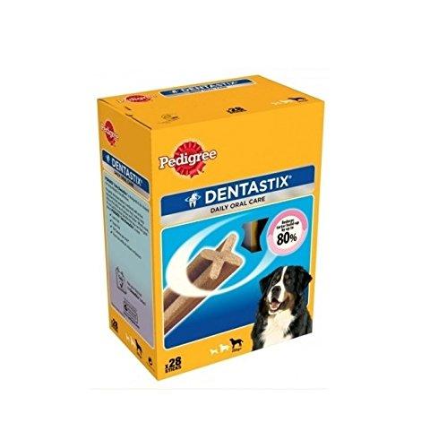 Pedigree DentaStix Maxi - Snack per l'igiene orale per cani di taglia grande (28)