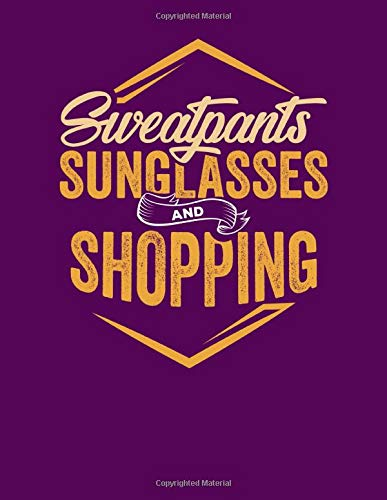 Sweatpants Sunglasses and Shopping: Simple Lined Organizer