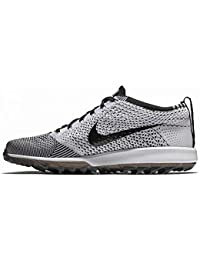 best sneakers 315c5 5e537 Nike Flyknit Racer G, Chaussures de Golf Homme, Noir (Negro 001),