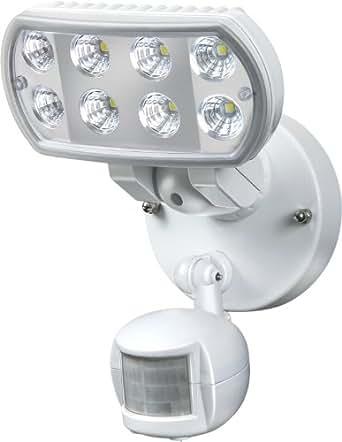 Brennenstuhl Hochleistungs-LED-Leuchte L801 PIR IP55 mit Infrarot-Bewegungsmelder Outdoor weiß, 1178550