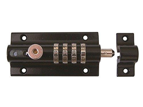 SQUIRE Combi 4 Sicherheitsvorhangschloß, 120 mm, dunkel Grau