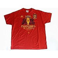 Adidas Spanien T-Shirt FEF EM 2012 Sieger Gr.XS