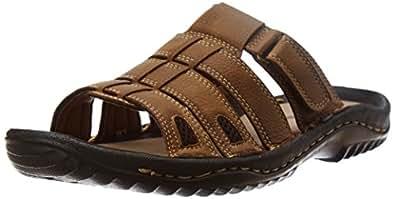 Weinbrenner Men's Lagos Mule Gold Hawaii Thong Sandals - 11 UK (8713016)